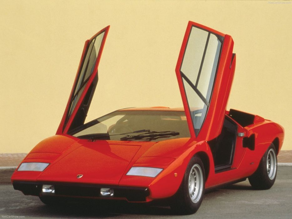 cars ride Lamborghini Countach wallpaper