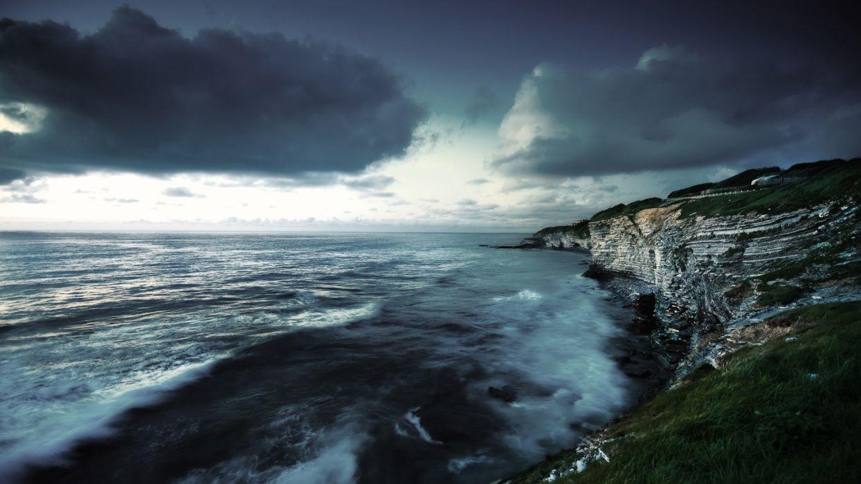 nature coast west scenario wallpaper
