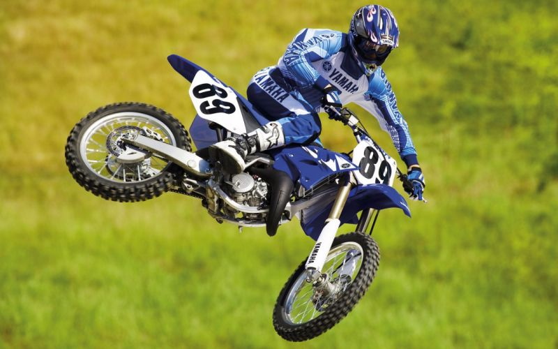 Yamaha racer motocross motorbikes wallpaper