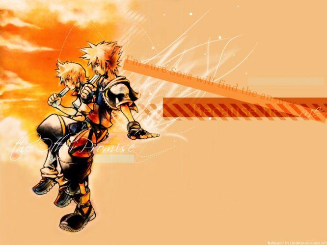 Kingdom Hearts Sora (Kingdom Hearts) Roxas popsicles wallpaper