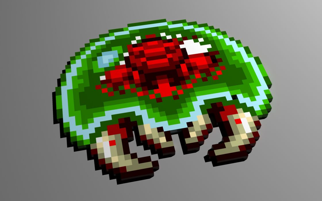 Metroid Pixel wallpaper