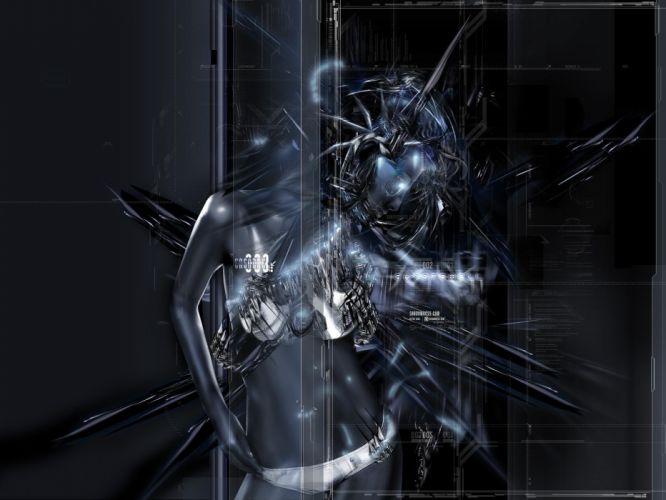 cyberpunk shadowness wallpaper