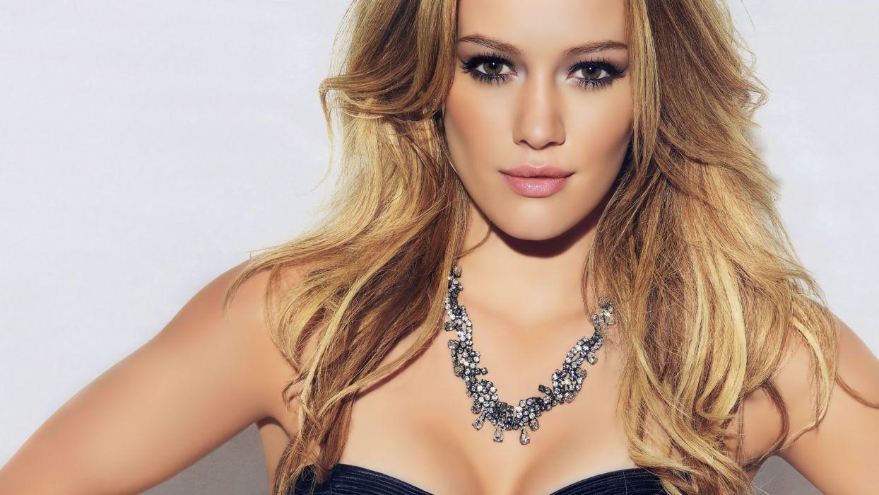 women actress Hilary Duff wallpaper