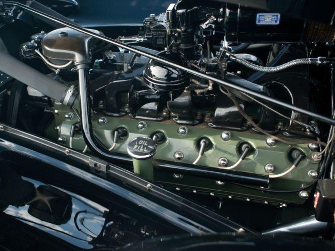 1938 Packard Twelve Convertible Sedan (1608-1153) luxury retro engine g wallpaper