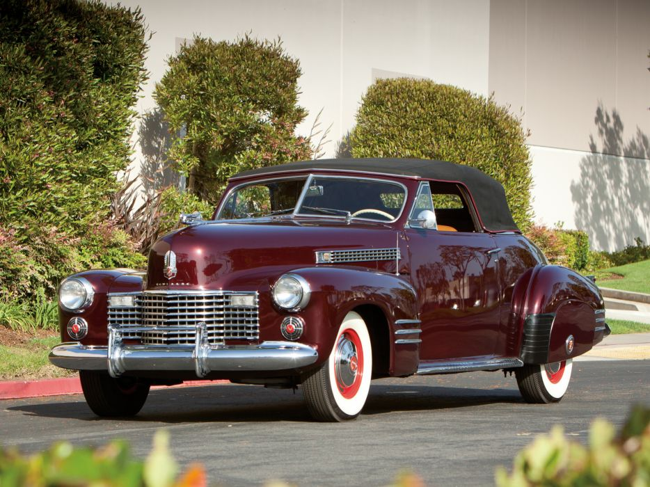 1941 Cadillac Sixty-Two Convertible Coupe luxury retro    hs wallpaper