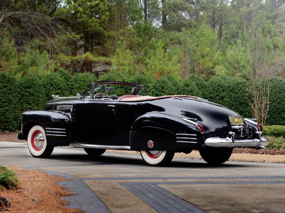 1941 Cadillac Sixty-Two Convertible Coupe luxury retro   gd wallpaper