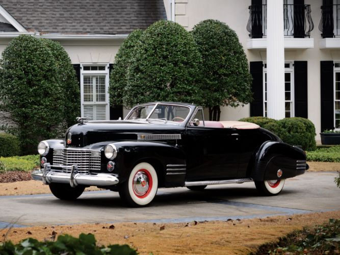 1941 Cadillac Sixty-Two Convertible Coupe luxury retro gu wallpaper