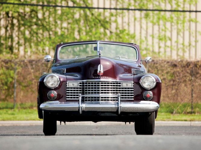 1941 Cadillac Sixty-Two Convertible Coupe luxury retro j wallpaper