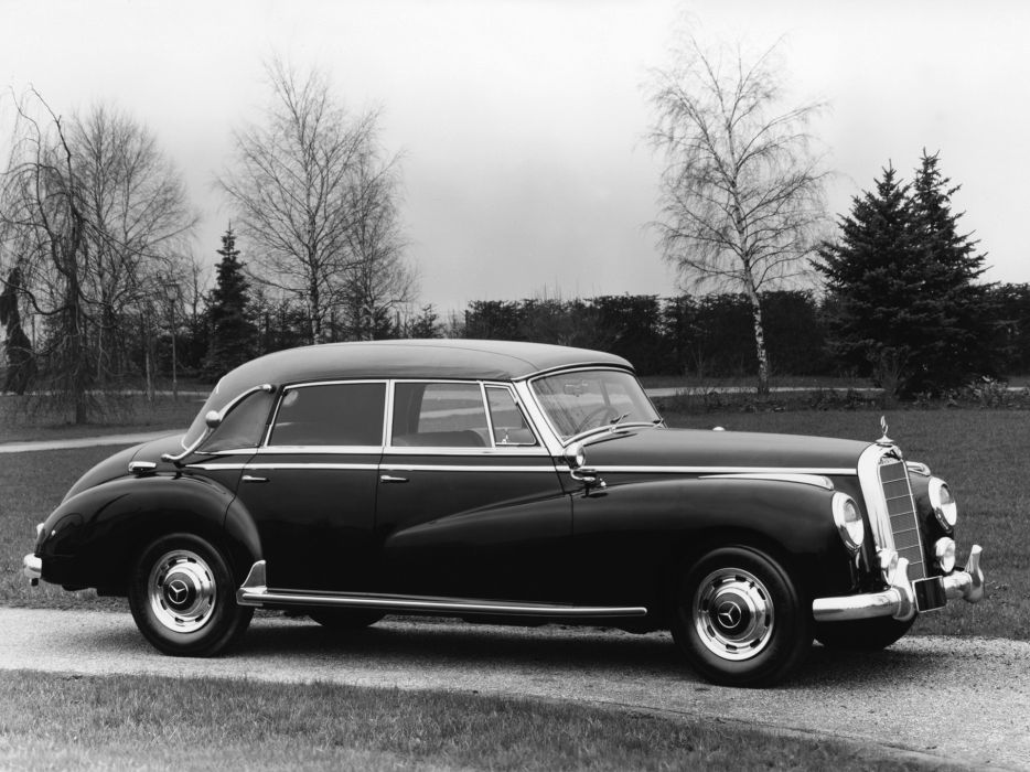 1951 Mercedes Benz 300 Cabriolet D (W186) luxury retro  y wallpaper