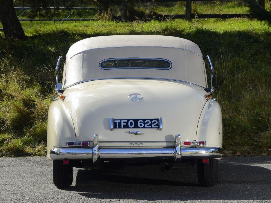 1951 Mercedes Benz 300 Cabriolet D (W186) luxury retro  g wallpaper