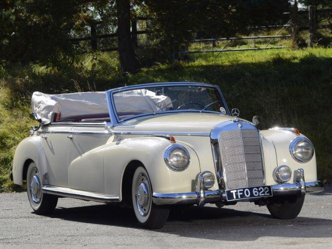 1951 Mercedes Benz 300 Cabriolet D (W186) luxury retro j wallpaper