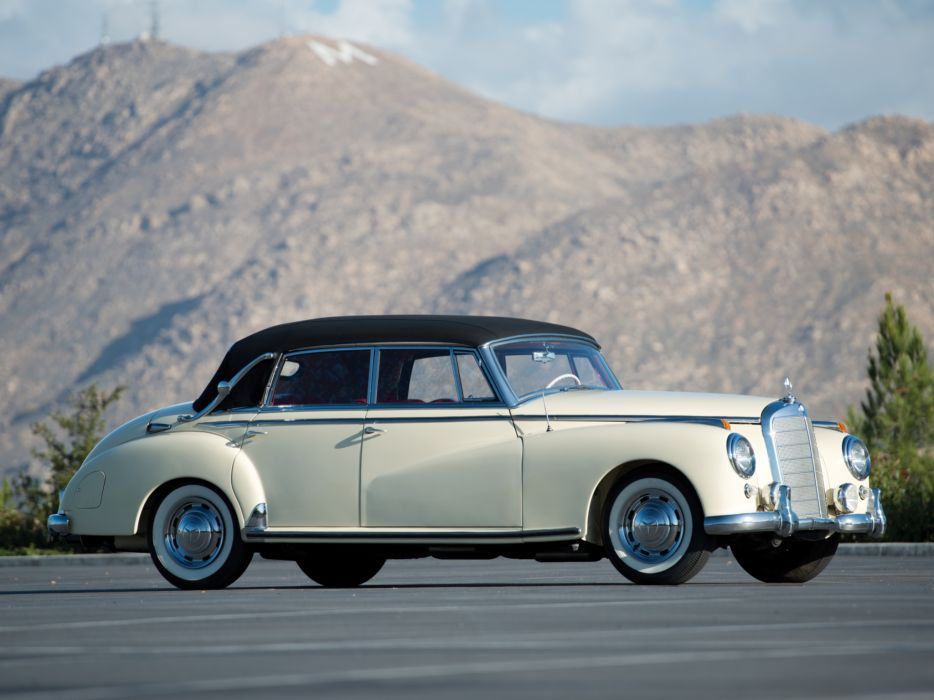 1951 Mercedes Benz 300 Cabriolet D (W186) luxury retro   h wallpaper
