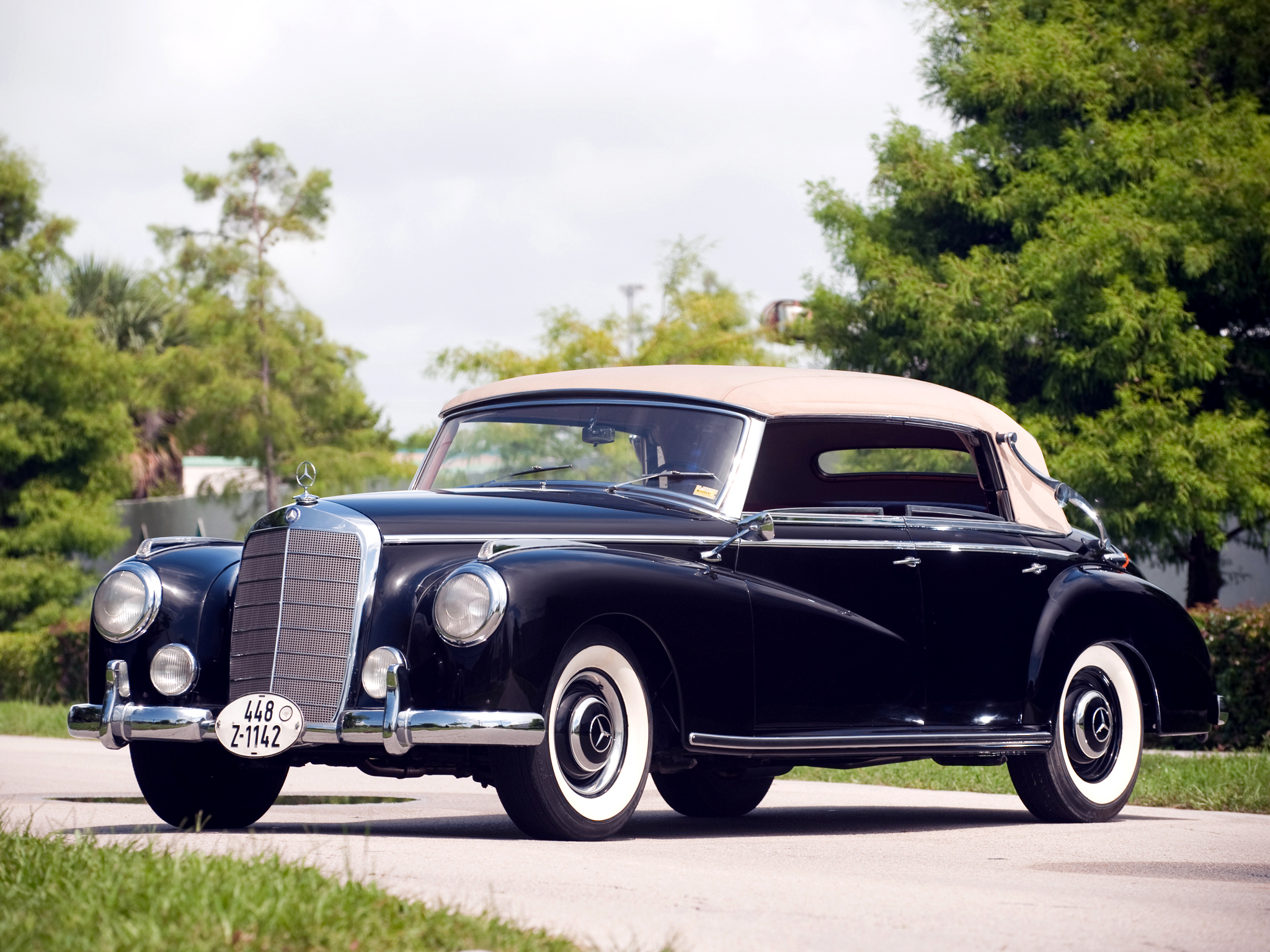 1951 mercedes benz 300 cabriolet d w186 luxury retro j