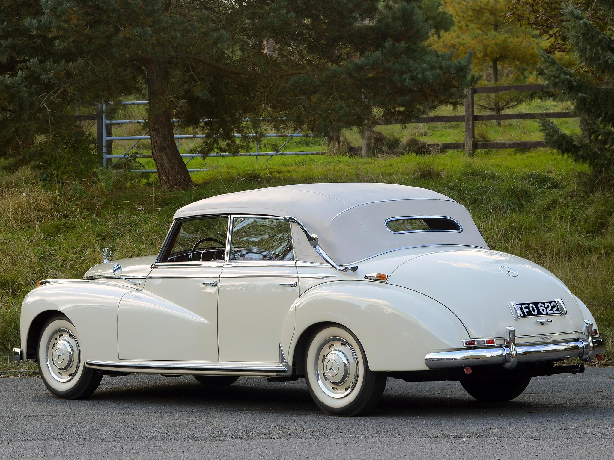 1951 mercedes benz 300 cabriolet d w186 luxury retro h for Mercedes benz retro