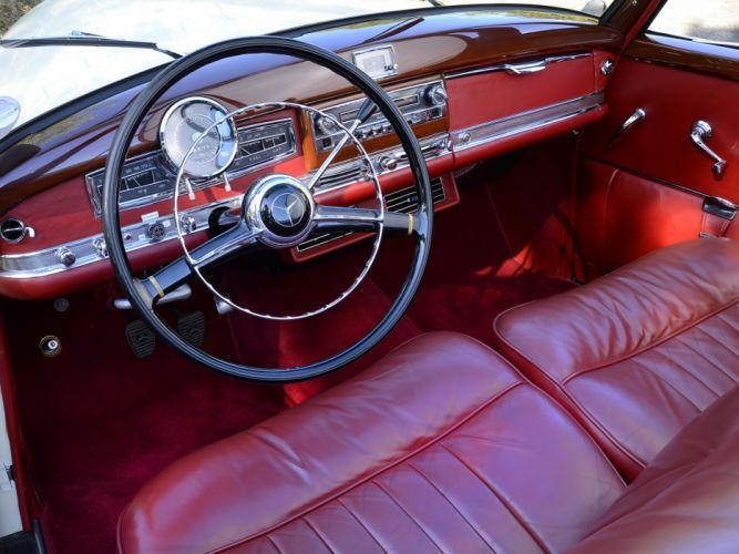 1951 Mercedes Benz 300 Cabriolet D (W186) luxury retro interior h wallpaper
