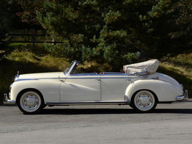 1951 Mercedes Benz 300 Cabriolet D (W186) luxury retro m wallpaper