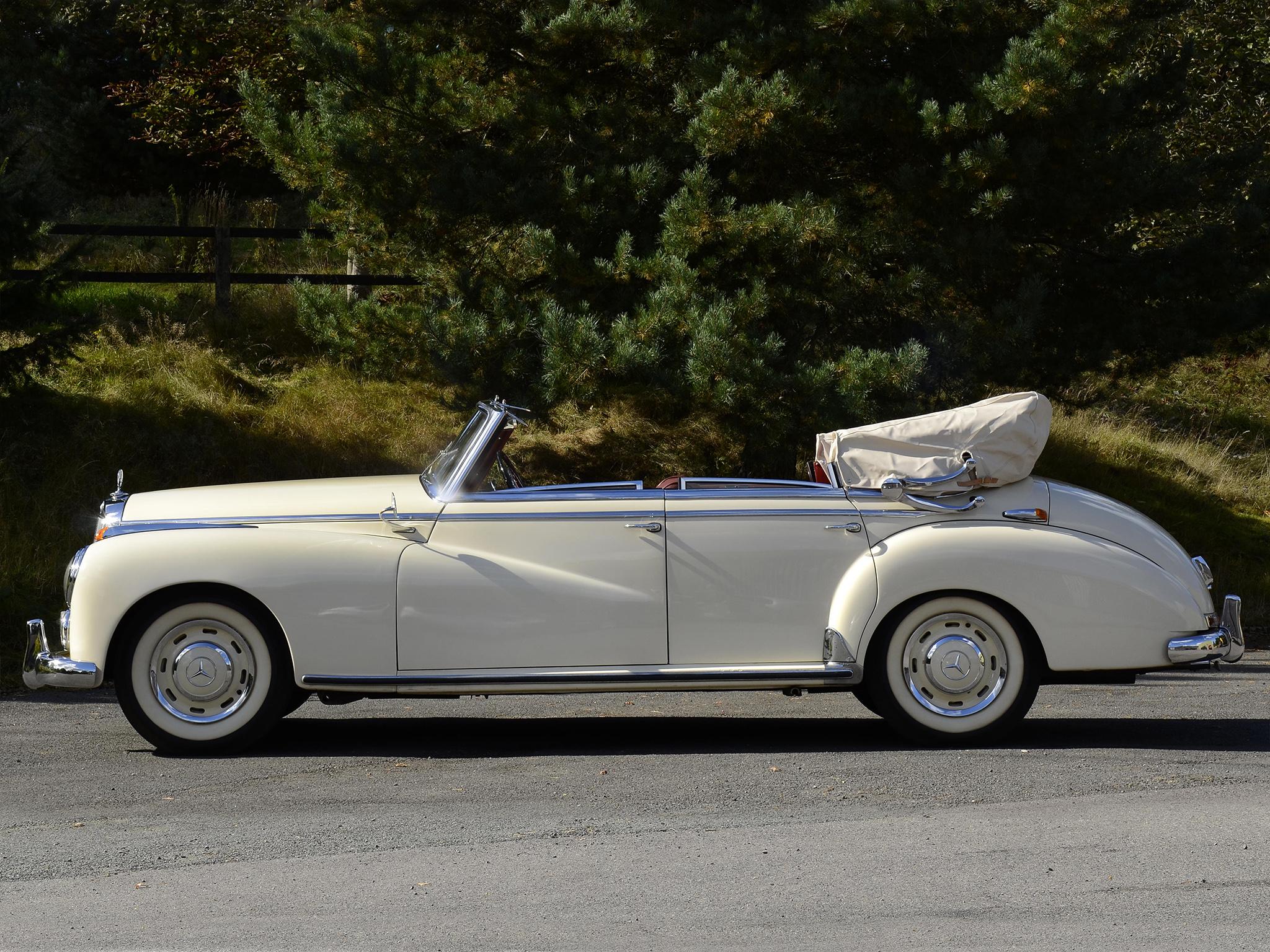 1951 mercedes benz 300 cabriolet d w186 luxury retro m for Mercedes benz retro
