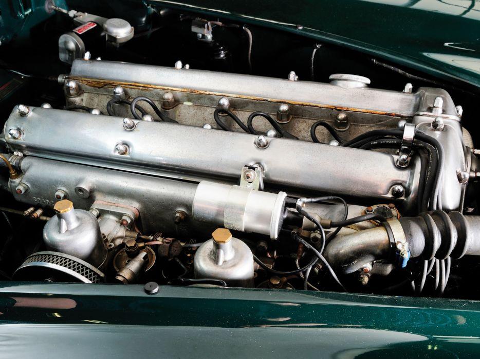 1954 Jaguar XK140 Drophead Coupe retro engine   f wallpaper