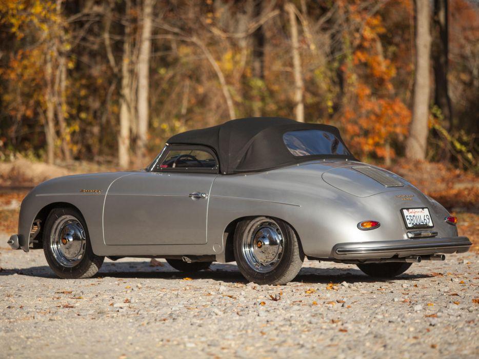 1958 Porsche 356A 1600 Speedster US-spec retro  f wallpaper