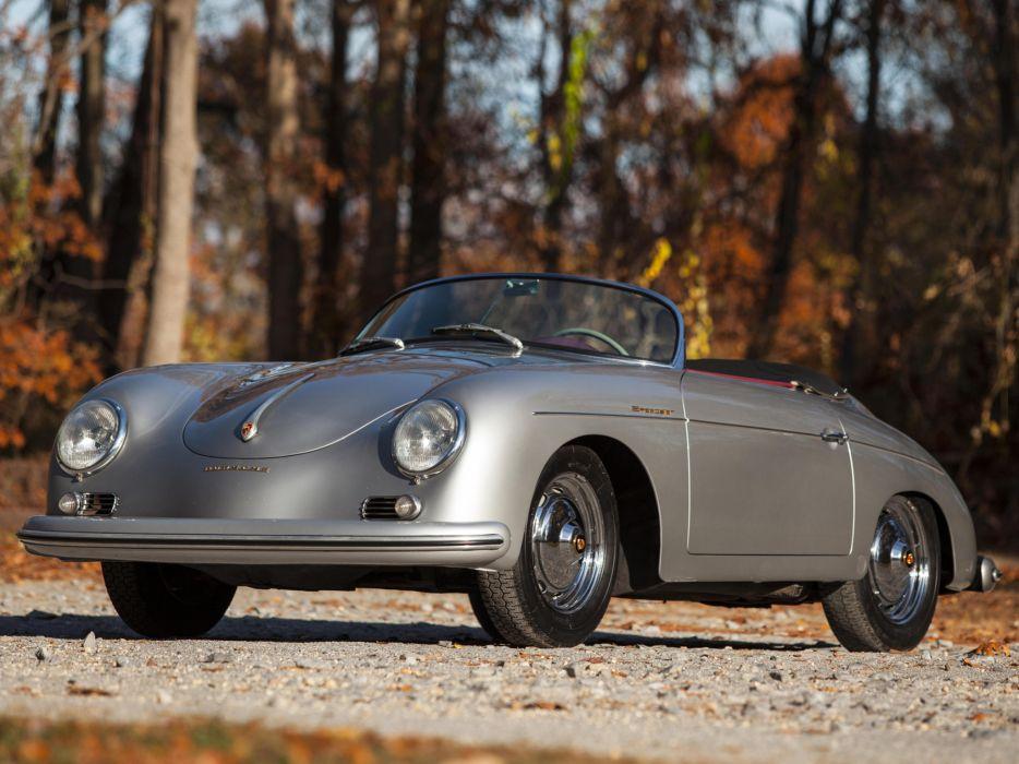 1958 Porsche 356A 1600 Speedster US-spec retro   d wallpaper