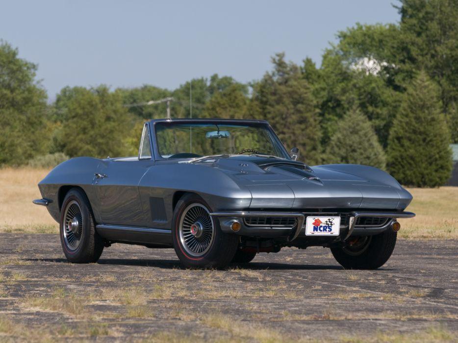 1967 Chevrolet Corvette StingRay L36 427 390HP Convertible (C-2) muscle supercar classic    k wallpaper