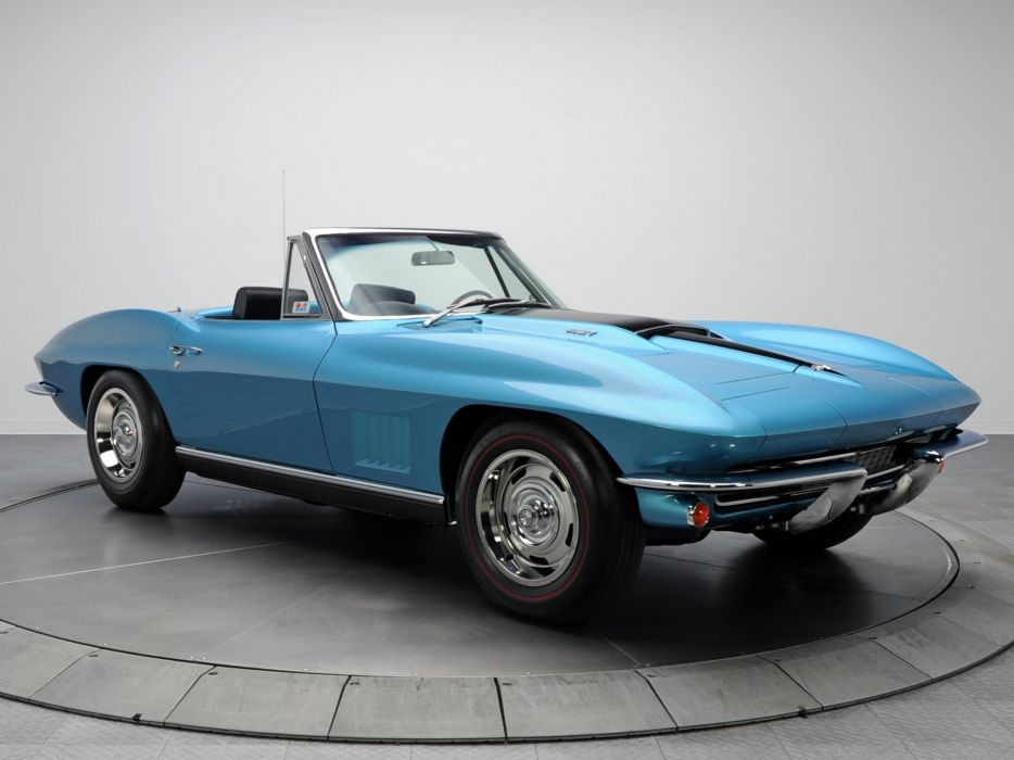 1967 Chevrolet Corvette StingRay L36 427 390HP Convertible (C-2) muscle supercar classic   h wallpaper