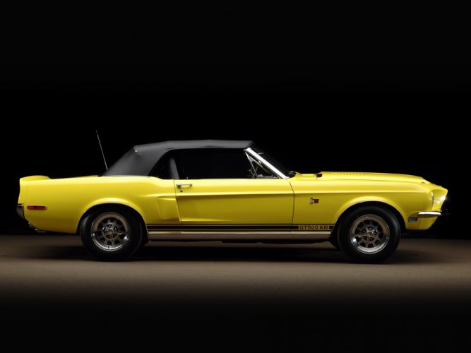 1968 Shelby GT500-KR gt500 convertible ford mustang muscle classic g-t d wallpaper