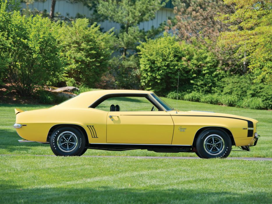 1969 Chevrolet Camaro S-S 396 classic muscle   f wallpaper