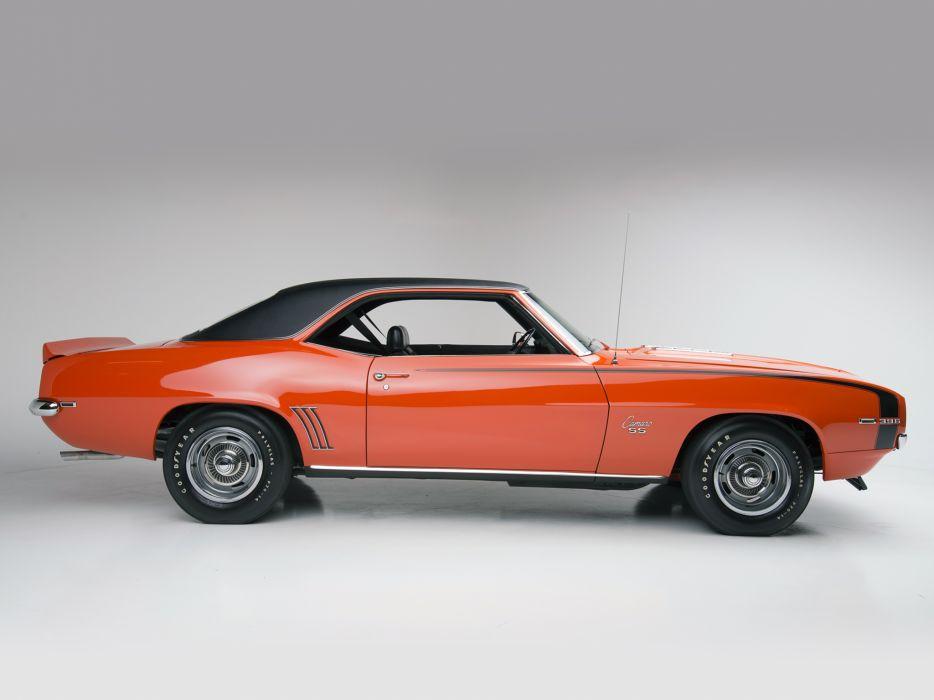 1969 Chevrolet Camaro S-S 396 classic muscle         g wallpaper