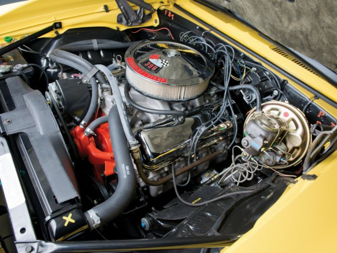 1969 Chevrolet Camaro S-S 396 classic muscle engine g wallpaper