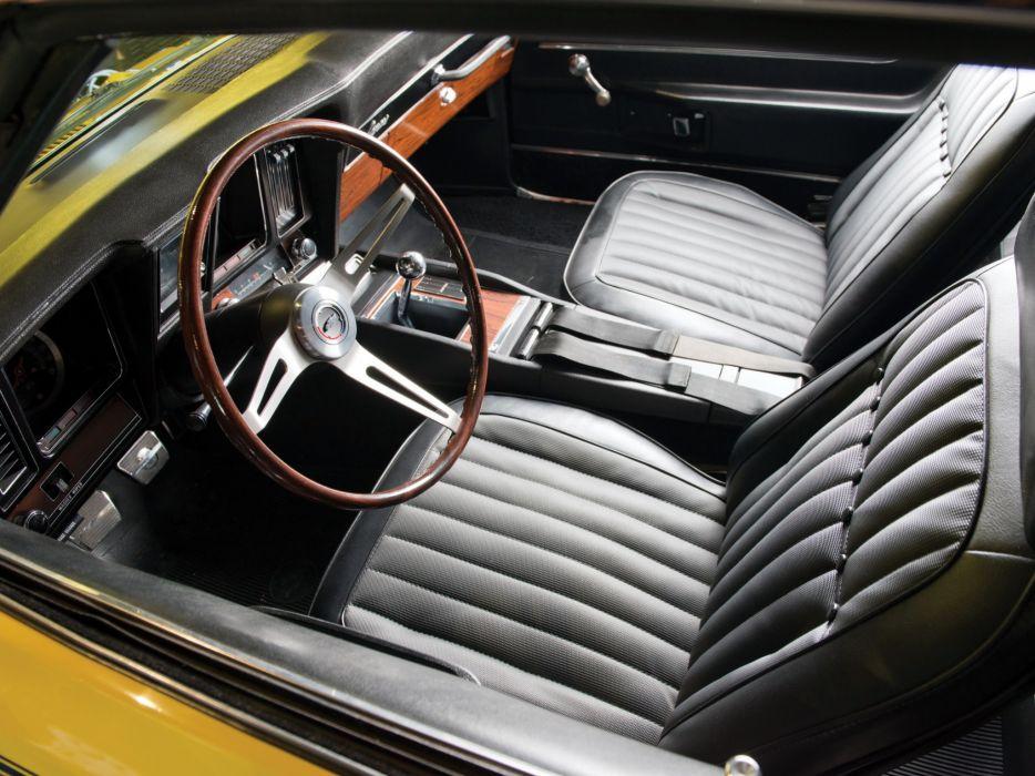 1969 Chevrolet Camaro S-S 396 classic muscle interior         g wallpaper
