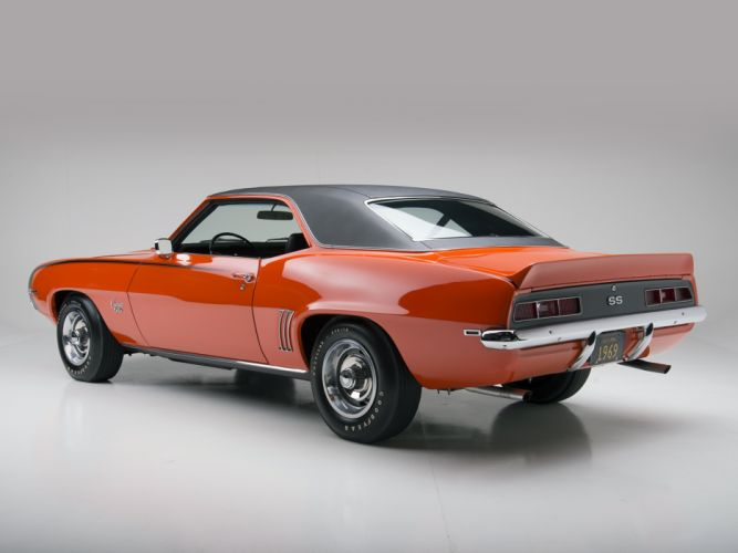 1969 Chevrolet Camaro S-S 396 classic muscle g wallpaper