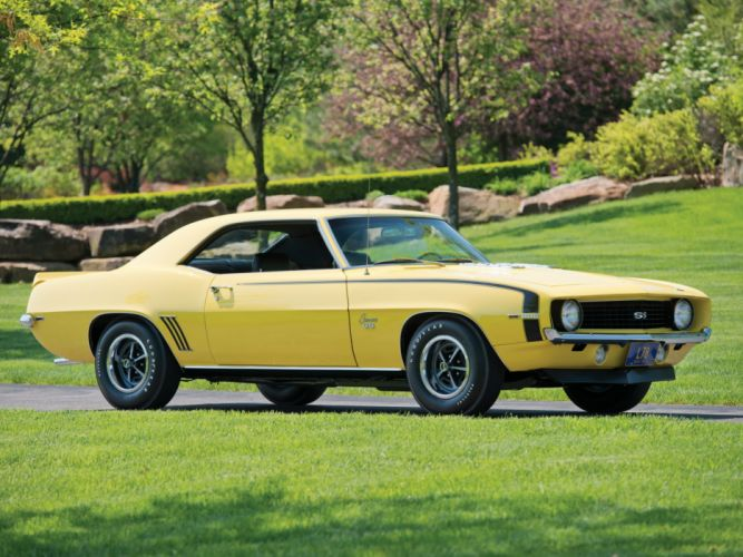 1969 Chevrolet Camaro S-S 396 classic muscle gd wallpaper