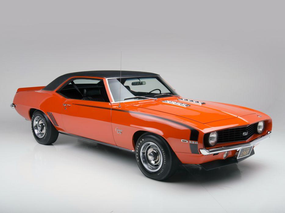 1969 Chevrolet Camaro S S 396 Classic Muscle T Wallpaper