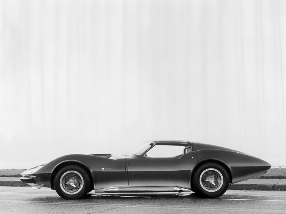 1969 Chevrolet Corvette MantaRay Concept muscle supercar classic       h wallpaper