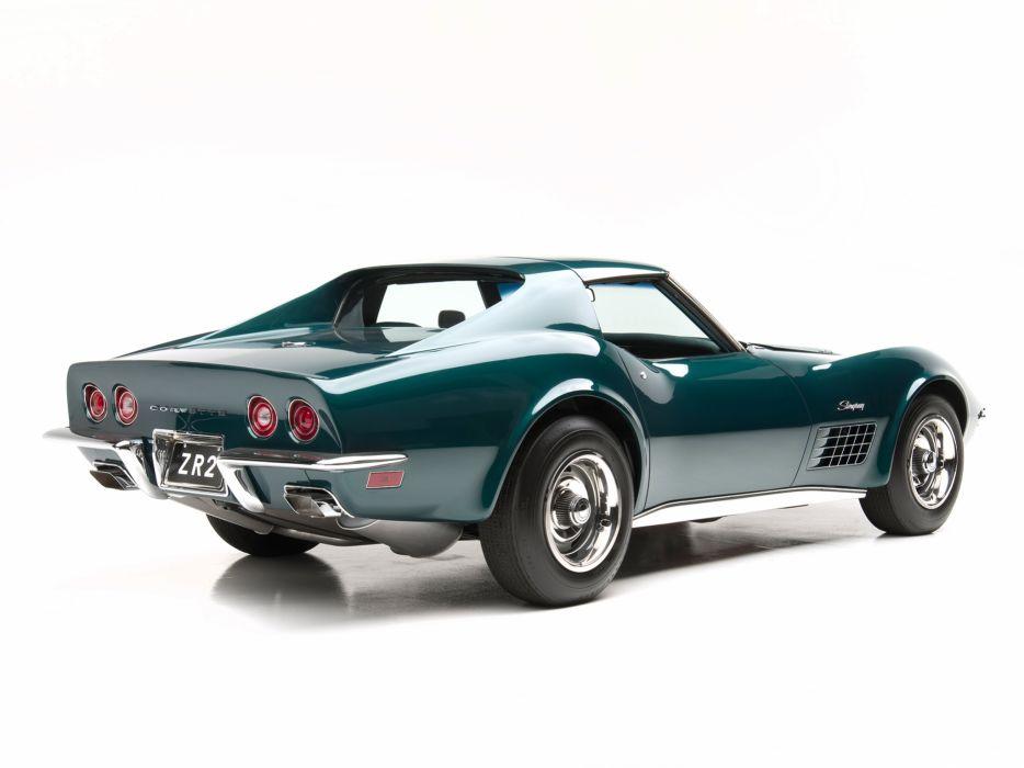 1971 Corvette Stingray ZR-2 LS6 454 425HP (C-3) muscle supercar classic   g wallpaper