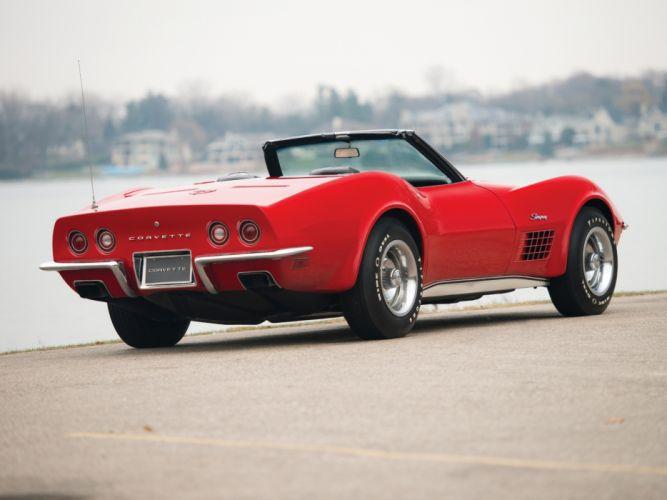 1972 Corvette Stingray LT1 350 255HP Convertible (C3) muscle classic supercar gw wallpaper