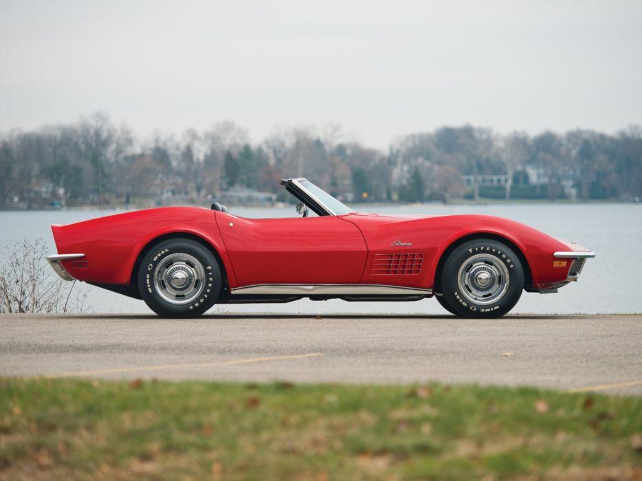 1972 Corvette Stingray LT1 350 255HP Convertible (C3) muscle classic supercar  v wallpaper