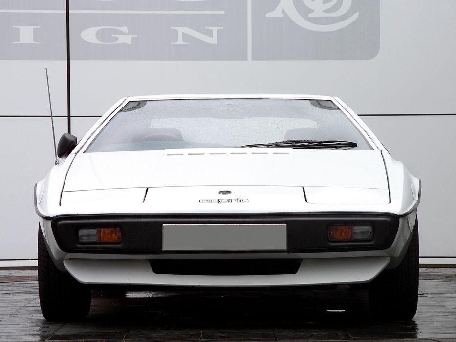1976 Lotus Esprit supercar  t wallpaper