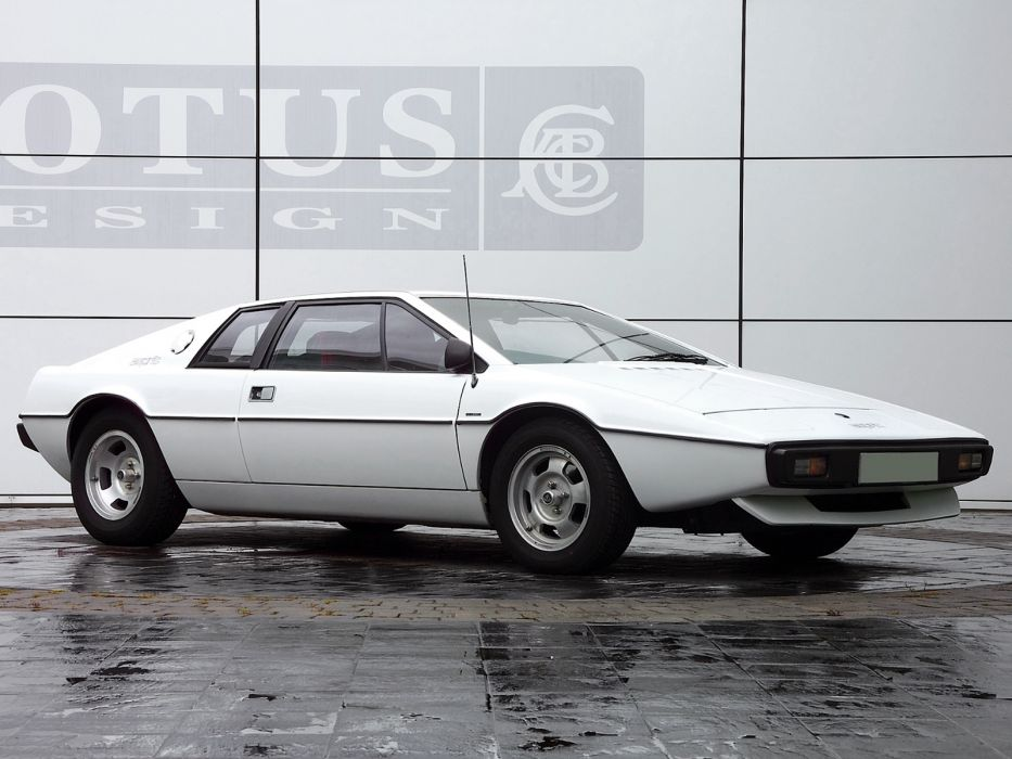 1976 Lotus Esprit supercar     g wallpaper