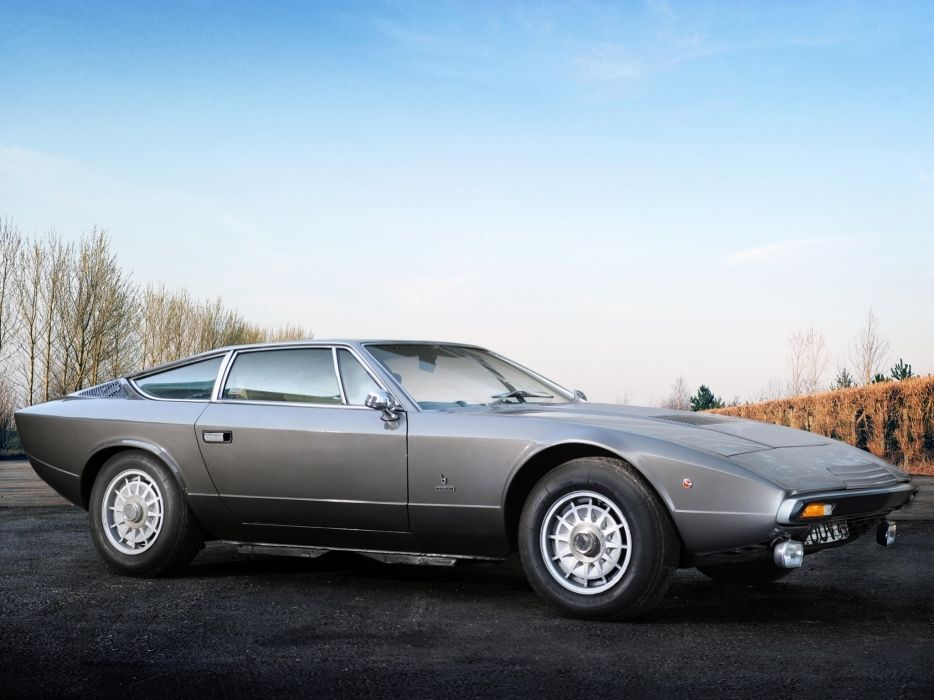 1977 Maserati Khamsin (AM120) supercar  d wallpaper