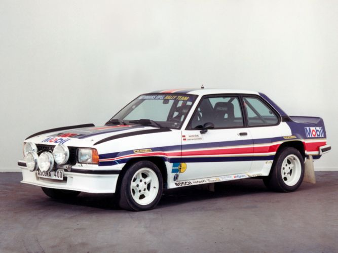 1979 Opel Ascona 400 Rally Version-B race racing d wallpaper