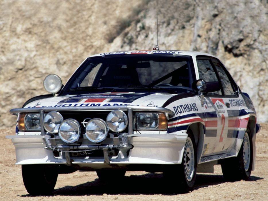 1979 Opel Ascona 400 Rally Version-B race racing   f wallpaper