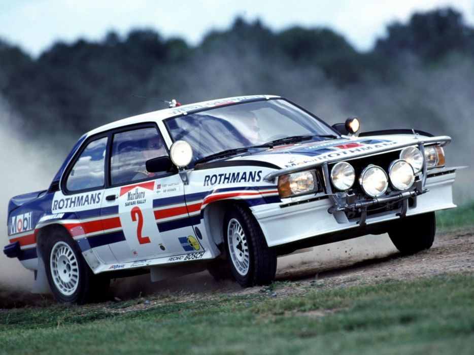 1979 Opel Ascona 400 Rally Version-B race racing  d wallpaper