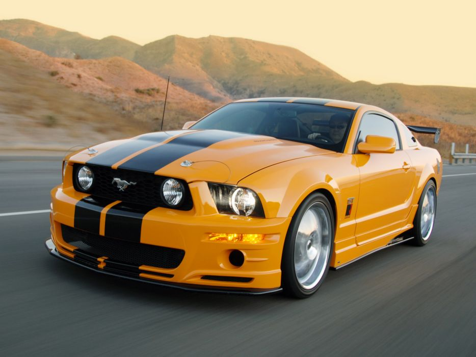2006 Roush Ford Mustang Stage 3 Muscle H Wallpaper