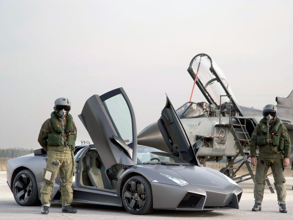 2008 Lamborghini Reventon supercar     f wallpaper