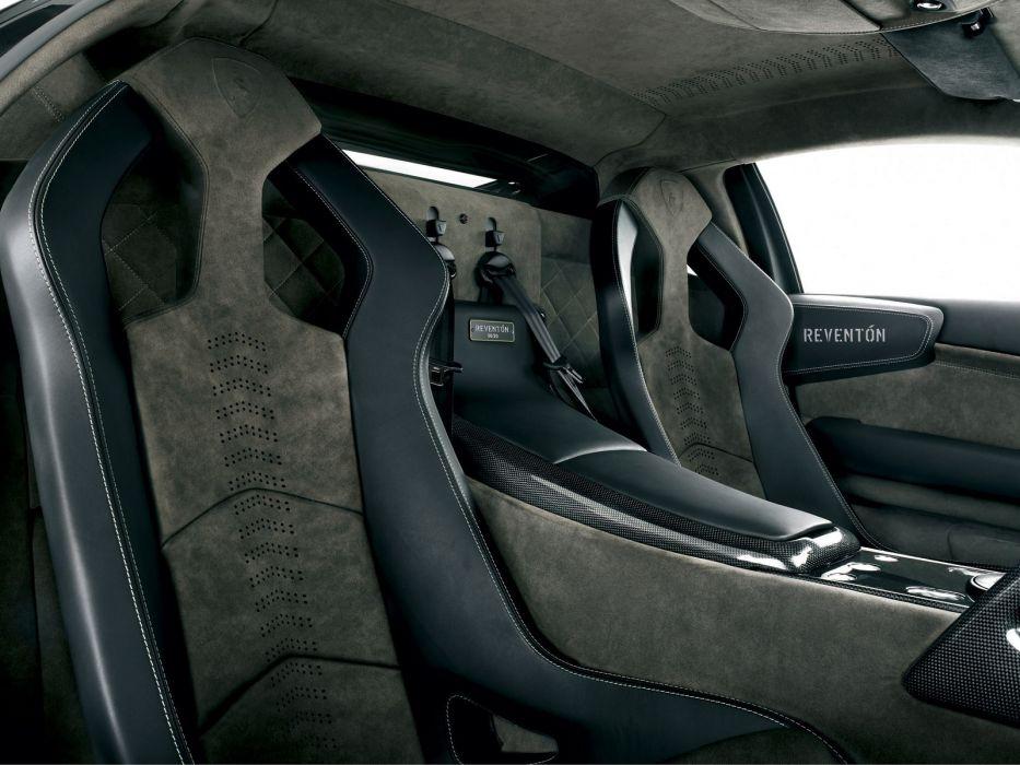 2008 Lamborghini Reventon supercar interior     g wallpaper