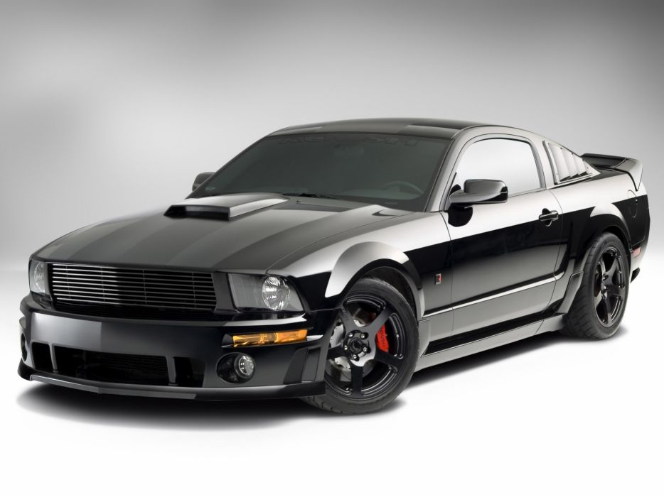 2008 Roush Ford Mustang Stage-3 Blackjack muscle    g wallpaper