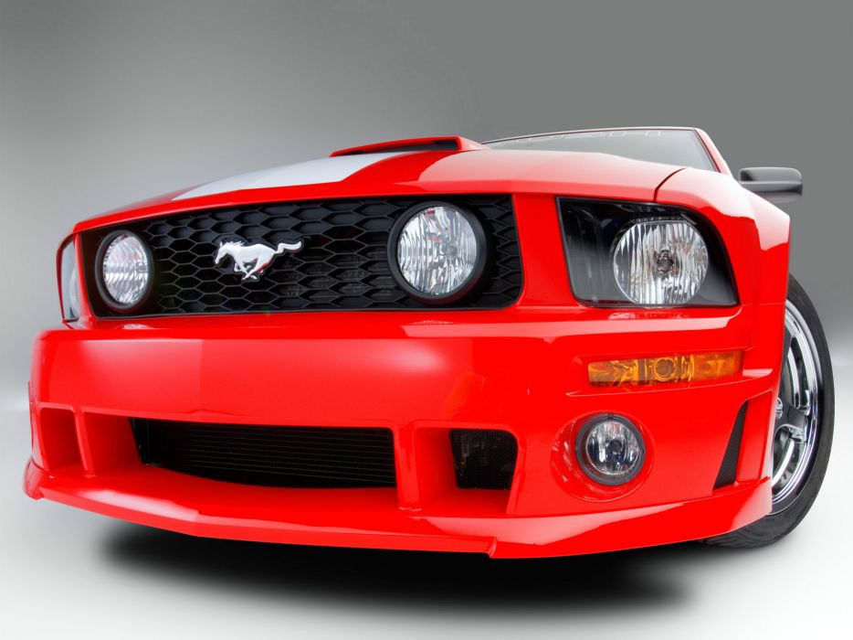 2009 Roush Ford Mustang 427R muscle tuning         g wallpaper