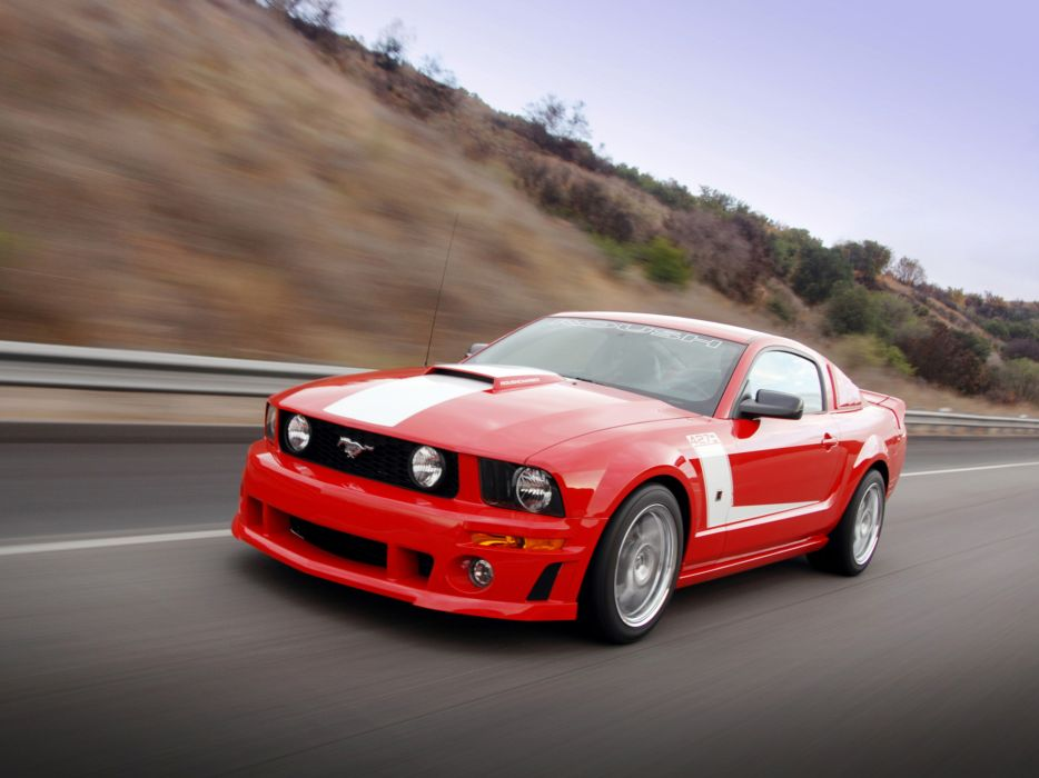 2009 Roush Ford Mustang 427R muscle tuning hot rod rods     hd wallpaper